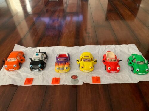 Chevron Cars Collection- 6 Cars-preowned-no Boxes.
