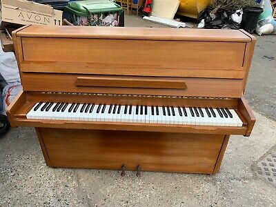 Barratt & Robinson Upright Piano Teak
