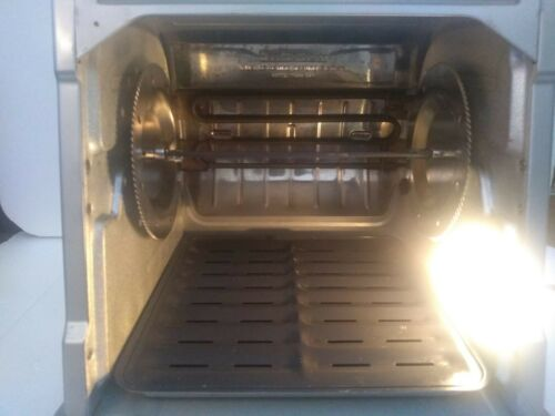 RONCO SHOWTIME ST5000PLGEN DIGITAL ROTISSERIE BBQ OVEN - $220.00