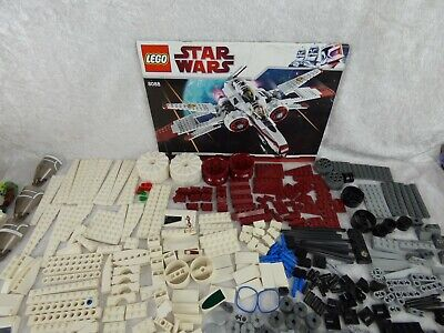 Lego STAR WARS 8088 ARC-170- Starfighter- 4 figurines - Notice