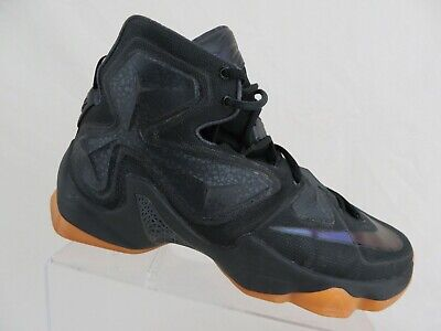 new concept 55dac 3652c NIKE Lebron XIII 13 Black Sz 10 Men Basketball Shoes