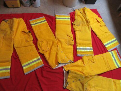 N.O.S. VINTAGE GLOBE Turnout PANTS 26 x 28  FIREFIGHTER FIREMAN BUNKER GEAR LION