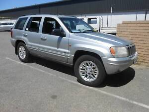 2003 Jeep Grand Cherokee v8 Limited 4.7L Auto 4X4 - Wagon Wangara Wanneroo Area Preview