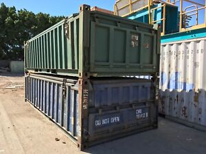 Half height containers Naval Base Kwinana Area Preview