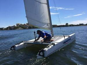NACRA 420 Sports catamaran Paradise Point Gold Coast North Preview