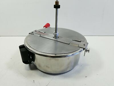 4082 8 Ounce Replacement Popcorn Kettle For Great Northern Popcornsilver