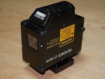 Keyence Lt-8010 Laser Displacement Sensor Confocal 0.1-m Precision Mount 670nm