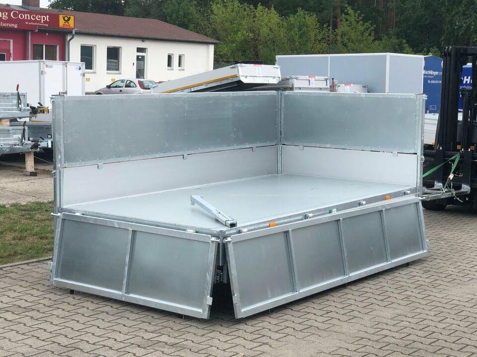 ⭐ Anhänger Eduard Kipper 3000 kg 311x160x90 cm Laubgitter 63 in Schöneiche bei Berlin