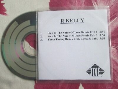 R. Kelly ‎– Step In The Name Of Love (Remix)  Jive Records UK Promo ‎CD