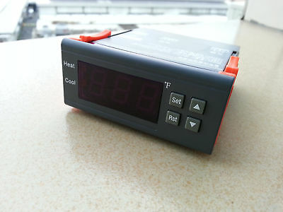 Ac110120v Digital Temperature Controller Thermostat F Fahrenheit Free Shipping