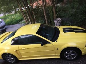 2003 mustang. V 6.     With 80000km