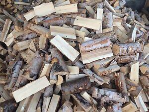 Birch firewood delivered