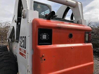 Custom Built Indestructible Bobcat Lights
