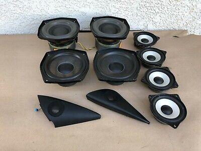 Sub Woofer Side Door Speaker Mid-Range Speakers BMW 2004 E85 E86 Z4 55K OEM