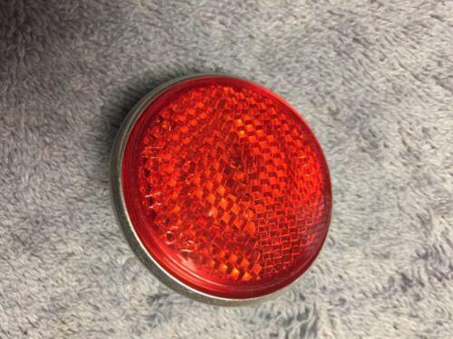 NOS BRIGHT STAR GULCO NO. 375 SAE-B 62 BICYCLE RED REAR REFLECTOR