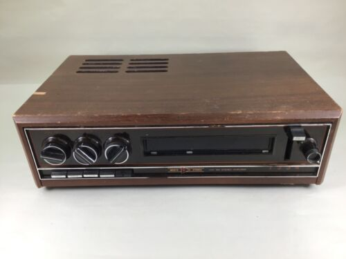 Rare Vintage MUNTZ stereo amplifier HW150 4 and 8 track fully operational #891