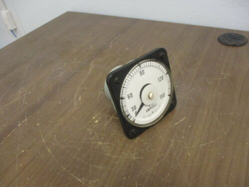 GE Type AB-40 AC Ammeter 50-10313-LSPZ2 Range: 0-150A Used