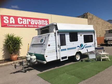 JAYCO FREEDOM 16' POP TOP with AIR CONDITIONING and SINGLE BEDS Klemzig Port Adelaide Area Preview
