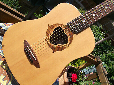 LUNA TRAVEL SIZE STEEL STRING ACOUSTIC GUITAR