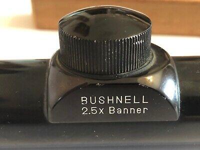Bushnell banner 2.5 x 20 mm.  (1962-1985+) (1 Inch Tube)