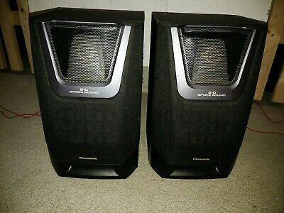 Panasonic  Lautsprecher 3-D Space Sound Modell SB-AK5  2way Speaker System 100w Speaker Spacer