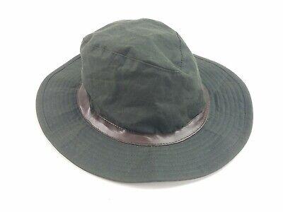 BARBOUR Wax Mens D592 XL Bushman  Fishing Shooting Hat