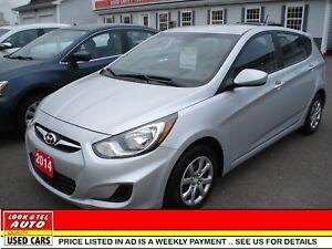 2014 Hyundai Accent We finance 0 money down & cash back* GLS,GLS