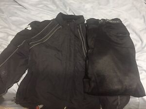 Joe Rocket Motorcycle Pants and Jacket