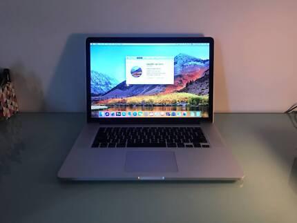 "MacBook Pro 15.4"" Laptop Retina Display with upgraded Graphics"