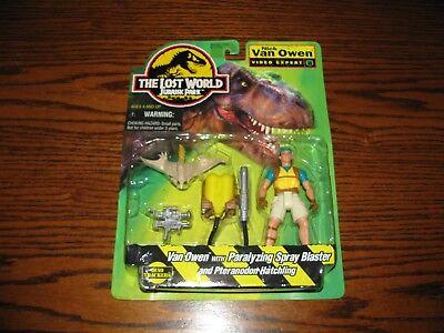 Jurassic Park Lost World - NICK VAN OWEN Action Figure!!  NIP  1996
