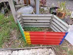 Small colourful metal kids garden bed Joyner Pine Rivers Area Preview