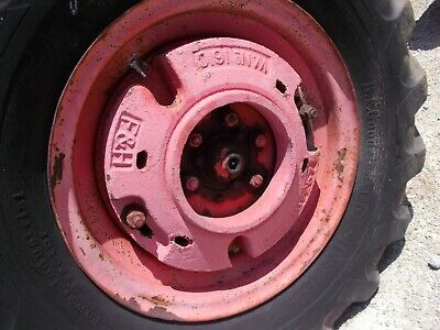 Allis Chalmers Wc Ac Tractor Fh Rear Wheel Weights Weight