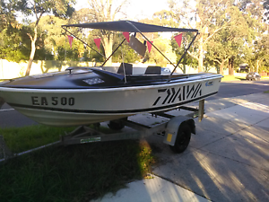 14ft BOAT AND TRAILER $1,100 Ferntree Gully Knox Area Preview