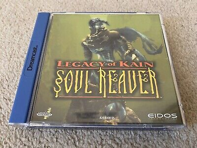 Legacy Of Kain Soul Reaver Dreamcast Game Complete CIB with Manual Very Good