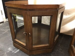 Octagon Lighted End Tables.   $50.00 each