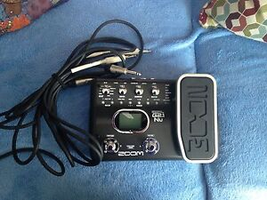 Zoom g2.1nu Multi Effects Guitar Pedal & USB Audio I/F Pedal