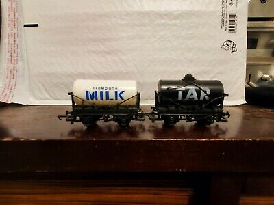 Hornby Railways Trains Thomas and Friends Tar Tanker Milk Tidmouth