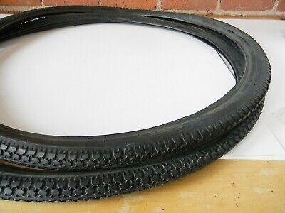 CST Carlisle C693 Cruiser Wire Bead Tires 26 X 2.1 Black Wall Bike
