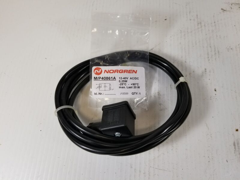 Norgren M/P40861A Solenoid Connecting Cable