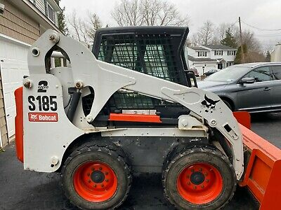 2008 Bobcat Skidsteer S185 Heatac Enclosed Cab