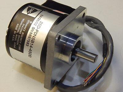 Drc Dynamics Research Corp Encoder Division 25d-f0n5b14-4500 Motor
