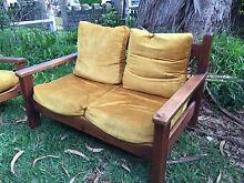Post & Rail vintage Lounge Setting - FREE to pick up Drummoyne Canada Bay Area Preview
