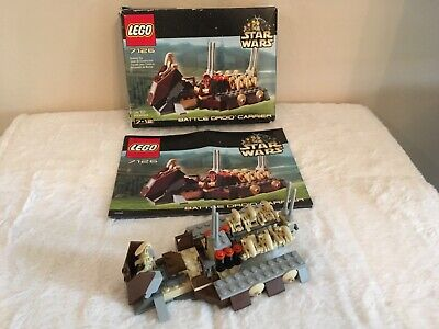 Lego Set #7126 Star Wars - Episode I - Battle Droid Carrier 2001 - 100% Complete