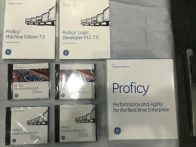 GE PROFICY CD and Manual (7.0,8.6 version individual sales)