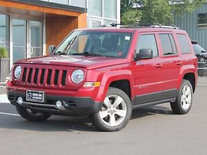 2014 Jeep Patriot Limited 4X4 | LEATHER | SUNROOF | ONLY 25,0...