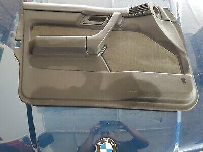 BMW E34 Türverkleidung anthrazit Stoff ohne Ablösungserscheinungen gebraucht kaufen  Forstinning
