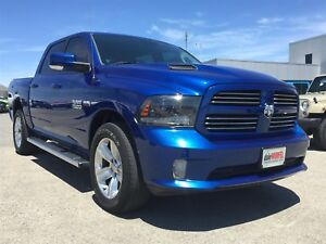 2015 Ram 1500 Sport | BACK UP CAM | RUNNING BOARDS | SPORT HOOD