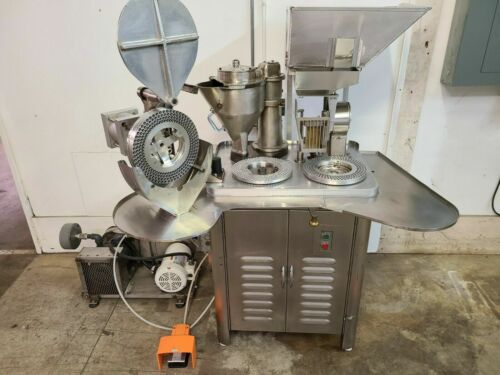 Capsugel SemiAutomatic Type 8 Capsule Filler Filling Machine / Encapsulator