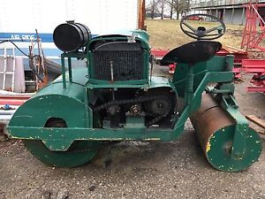 Homemade lawn roller works mint !