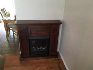 Foyer électrique - meuble